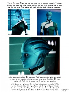 Blue Girl Page 2