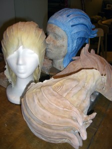 Final Asari Headpiece and Friends