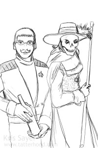 Captain Adama Picard and The Red Death, Age 21
