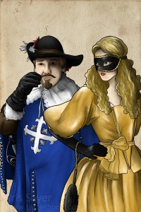 d'Artagnan and Milady, Age 24