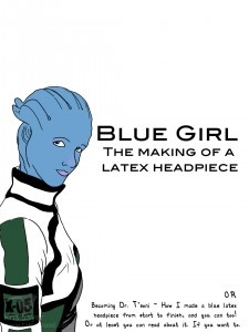 Blue Girl Comic
