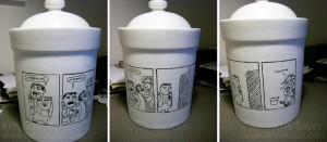 Napoleon Cookie Jar