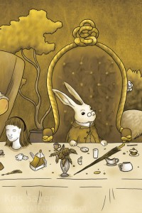 A Mad Tea Party - White Rabbit, 3 of 9