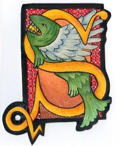 S is for Swordfish